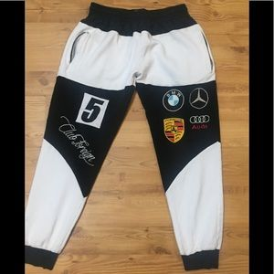 Club Foreign joggers wore once for photo shoot